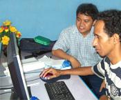 """Pelatihan GIS dari Timor Leste """"Mr Ino"""""""