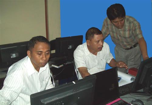 PNK pelatihan TI-3