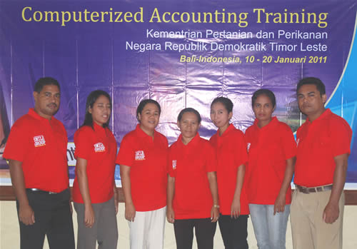 computerized accounting training Timor Leste