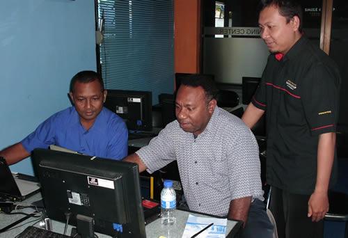 Bagian Pengelolaan Infrastruktur Prov Papua Pelatihan Web Design