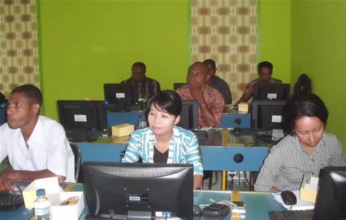 BKPLA Provinsi Papua Pelatihan Web Design