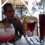 Bapak Irhamni makan siang di Raminten bersama Smile Group Yogyakarta