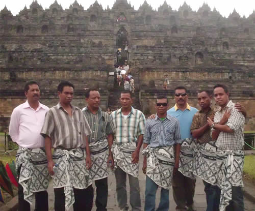 National Directorat of Rural Development Timor Leste di Borobudur