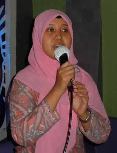 Mbak Santi Dinas PU Makassar