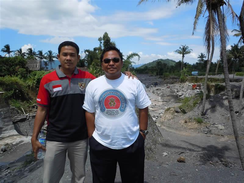 Puslitbang Geologi Kelautan Bandung di Lokasi Dampak Lahar Dingin Merapi