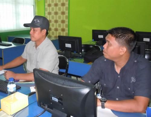 Sekretariat DPRD Pelalawan Pelatihan Desain Multimedia