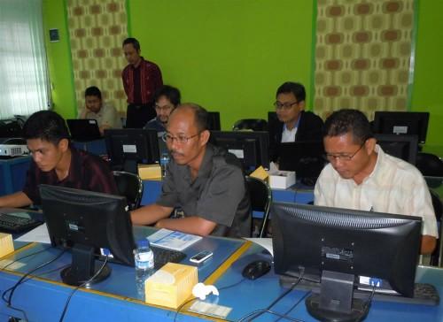 Dinas Tata Kota Ruang Bontang Pelatihan GIS