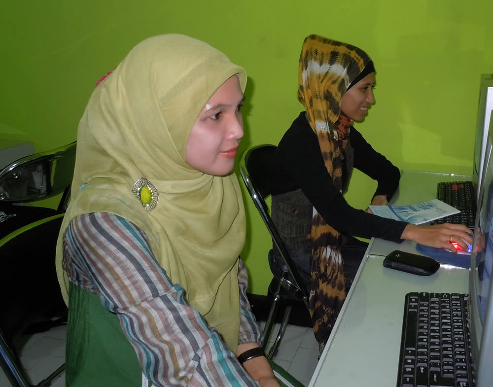 Humas Dishubkominfo Aceh Tamiang - Pelatihan Desain Grafis