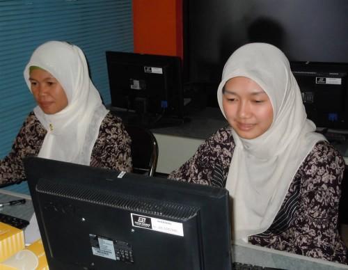 Kapuas Hulu pelatihan Komputer Bendahara