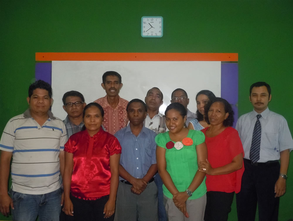 DNAF Timor Leste Training di Smile Group
