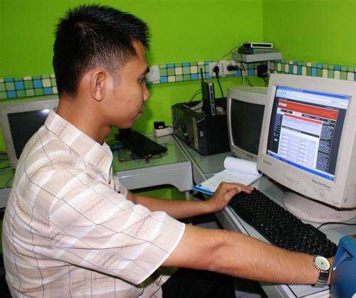 Dinkes Kalteng Pelatihan Teknik Jaringan Windows