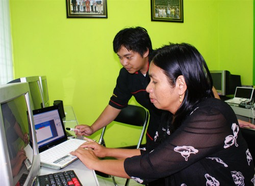 Dishubpar Raja Ampat Training Internet Multimedia