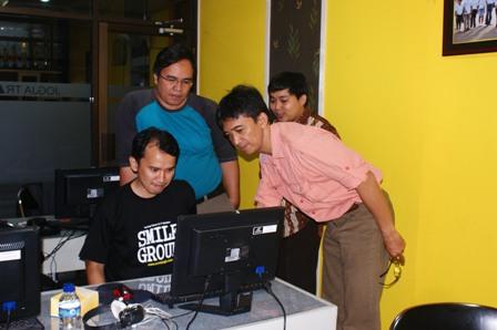 DINKES Bandung pelatihan editing Video