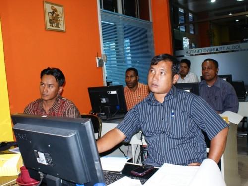 Pekerjaan Umum Kabupaten Asmat Papua Pelatihan SIG