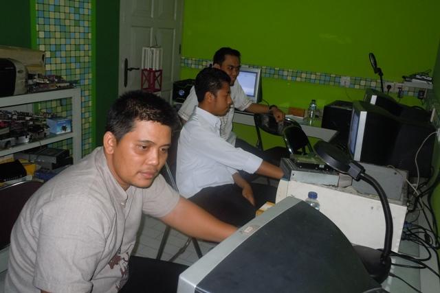 Dishubkominfo Kabupaten Batola Pelatihan Teknisi Komputer