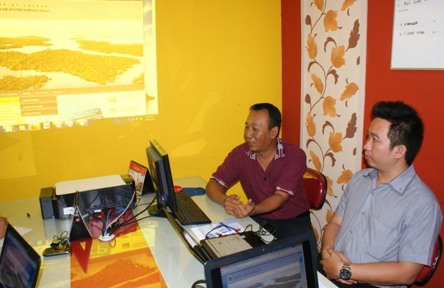 BAPPEDA Kabupaten Kapuas Hulu Pelatihan Administrator Web