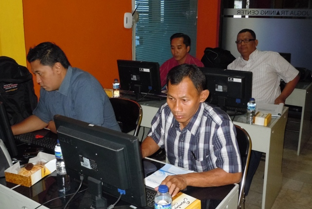 Pelatihan Multimedia editing film
