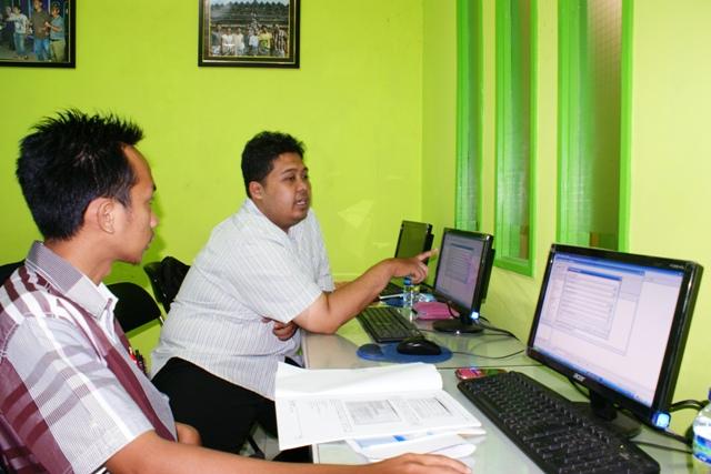 Dinas Pertanian Kehut Kelautan Kota Palu pelatihan GIS-SIG