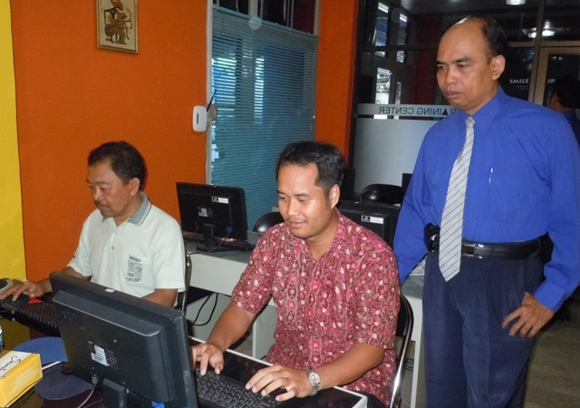 Setda Kab. Kotawaringin Barat Pelatihan Teknisi Jaringan Komputer