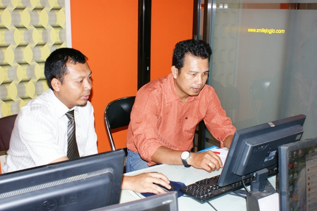 PERUSDA Kabupaten Natuna Bimtek Pembuatan Website