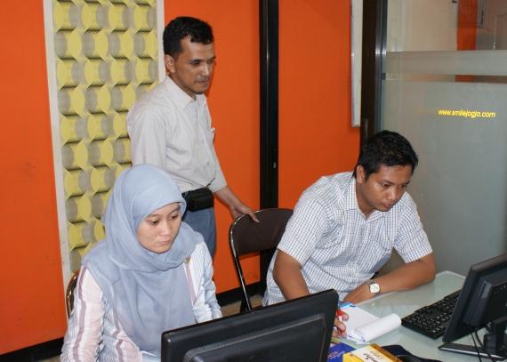 PT. Graha Multi Kreasi Palembang Pelatihan Aplikasi TI di Smile Group Yogyakarta