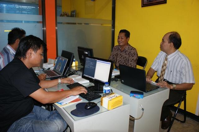 Pelatihan Mikrotik staf Kantor PDE