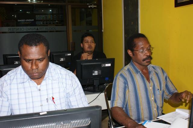 Pelatihan SIG Dinas Pertambangan dan Energi Kab. Merauke