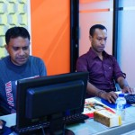 OXFAM Papua Pelatihan geographic information system