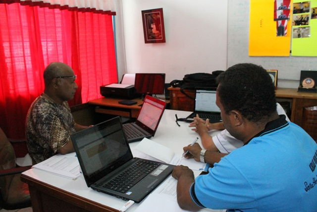 Launching website GKI di Tanah Papua