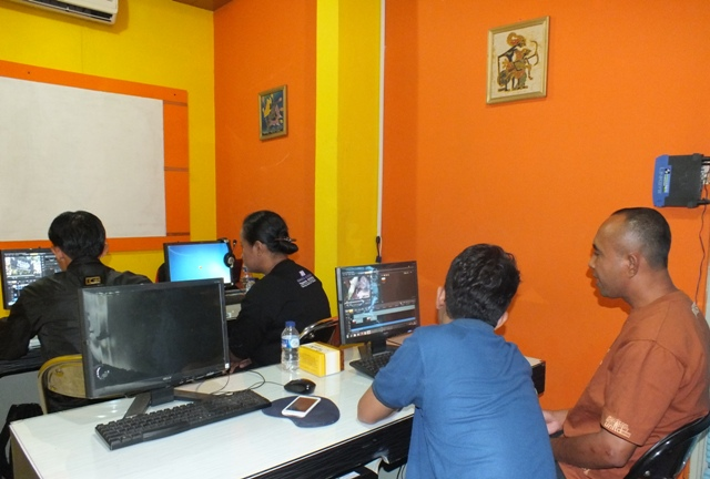 pelatihan Editing video