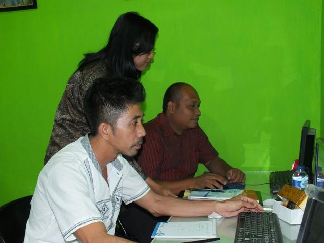 kabupaten Aceh Singkil Pelatihan GIS