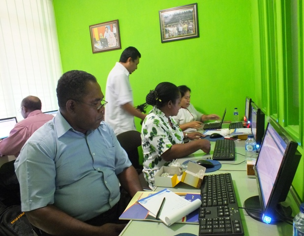 GKI Papua Klasis Paniai Pelatihan Administrator Website