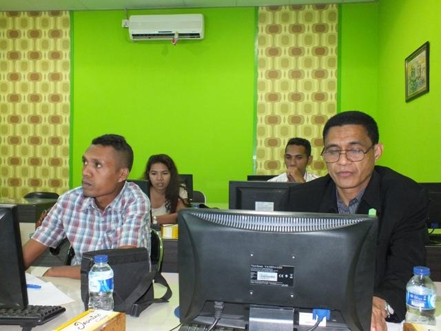 Kementerian Kehakiman Timor Leste Pelatihan E-Document