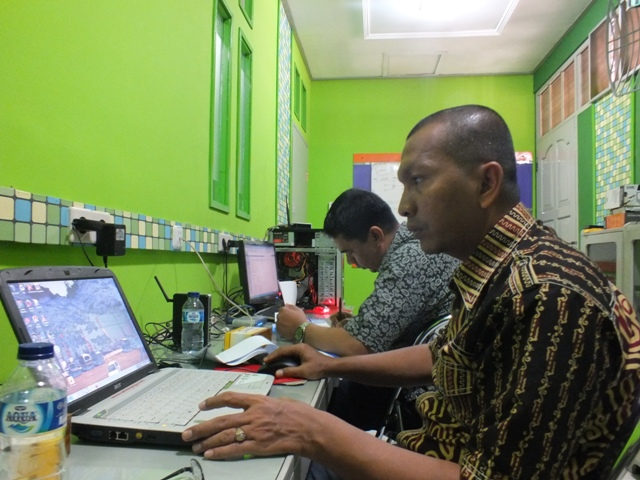 Pelatihan administrator jaringan wireless