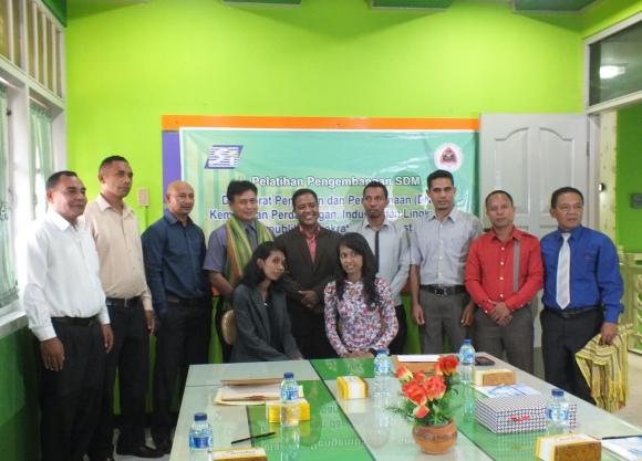 Foto bersama para peserta pelatihan