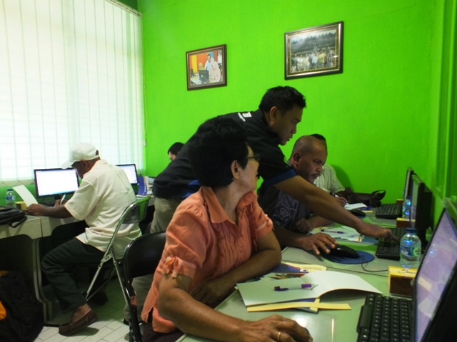 Pelatihan Desain Grafis Dinas Kominfo Kabupaten Biak Numfor
