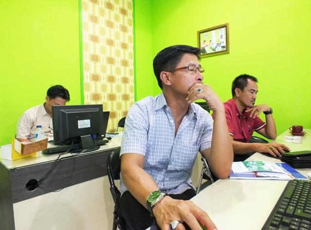 Dinas Perkebunan Kabupaten Kampar Pelatihan GIS di Jogjakarta