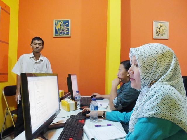 Pelatihan Statistik Terapan Tingkat Dasar di smile group Yogyakarta