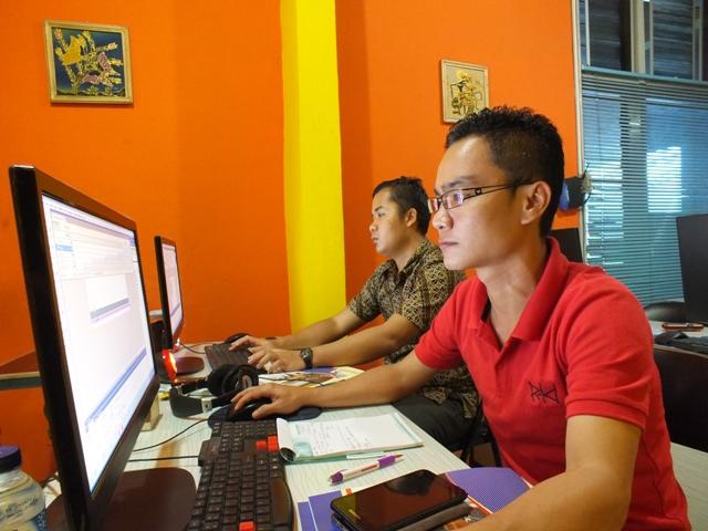 Pelatihan atau Training Desain Komunikasi Audio Visual dan animasi