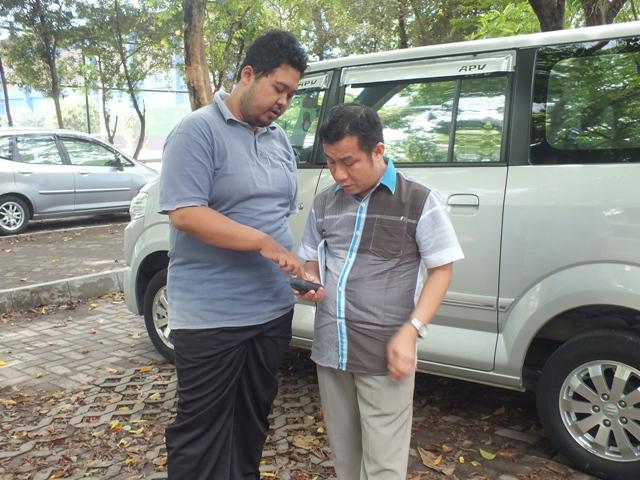 praktik penggunaan GPS