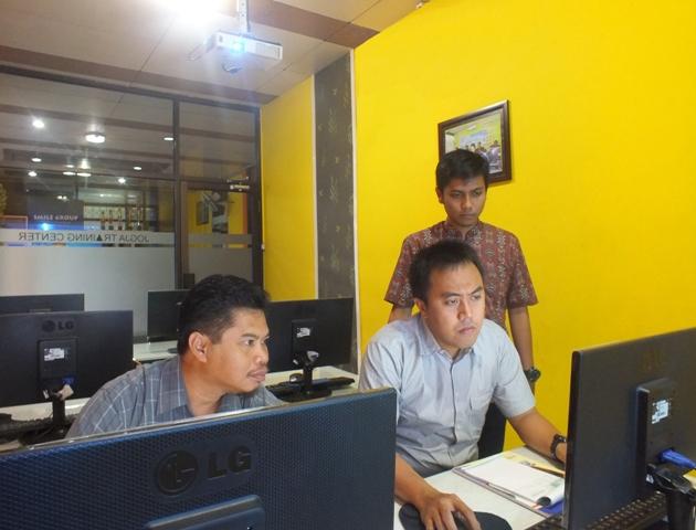 Pelatihan GIS tingkat dasar