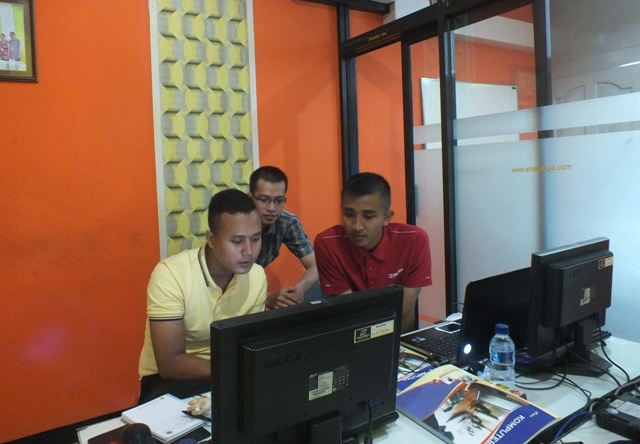 Pelatihan WebGIS di Yogyakarta