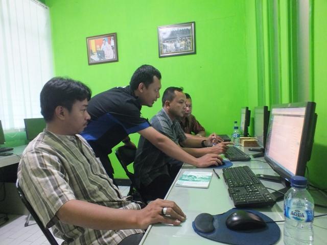 BKPP Barito Selatan Pelatihan Desain Website