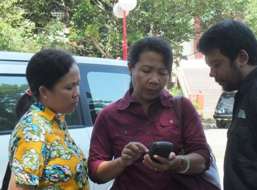 pelatihan GIS dan praktik GPS
