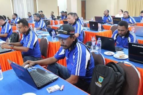 Pelatihan GIS PU Papua Barat