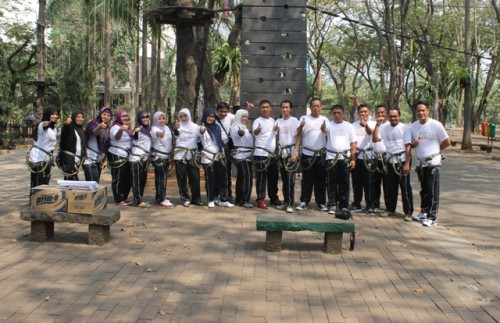 Pelatihan team work building