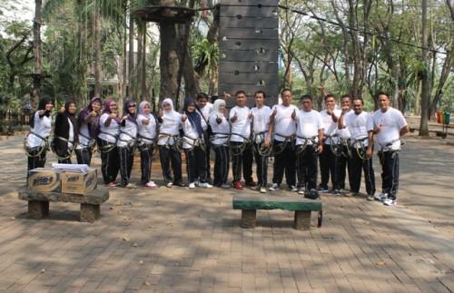 Pelatihan team work building