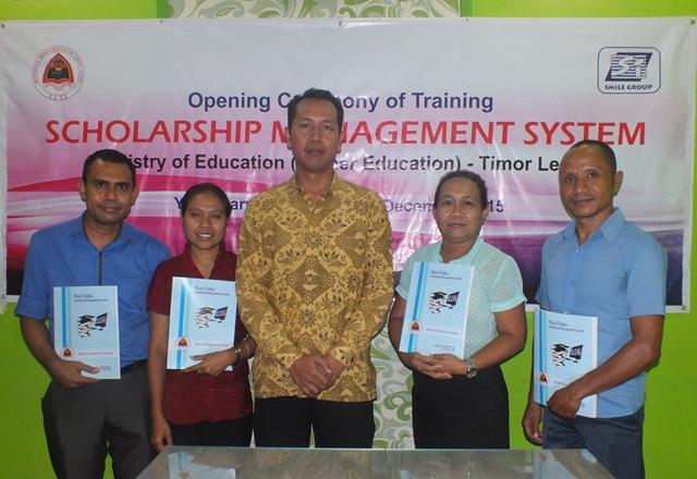 Manajemen sistem Scholarship