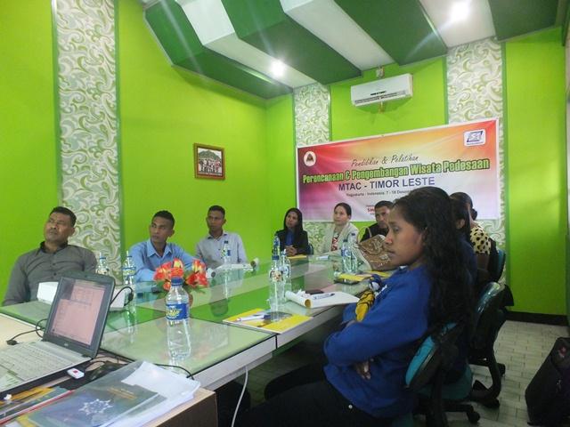 Pelatihan Manajemen Pengembangan Wisata Desa