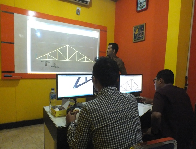 Pelatihan Structural Analysis Program-SAP Yogyakarta